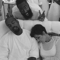 Ellos simplemente fueron retratados mientras dormían y la foto se volvió viral. Foto:vía instagram.com/khloekardashia