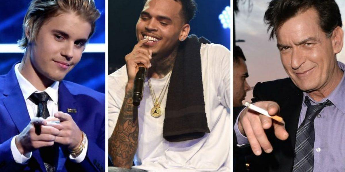 Ellos fueron los famosos que metieron la pata esta semana en redes sociales