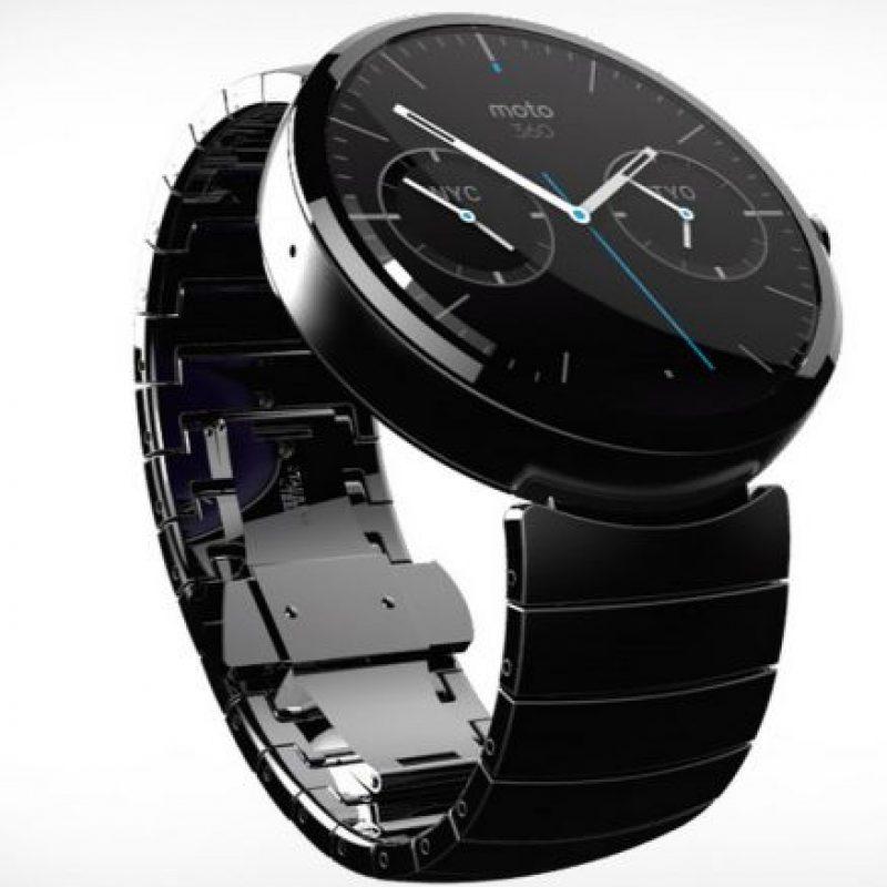 Lo bueno: el Moto 360 tiene un atractivo diseño Foto:Motorola