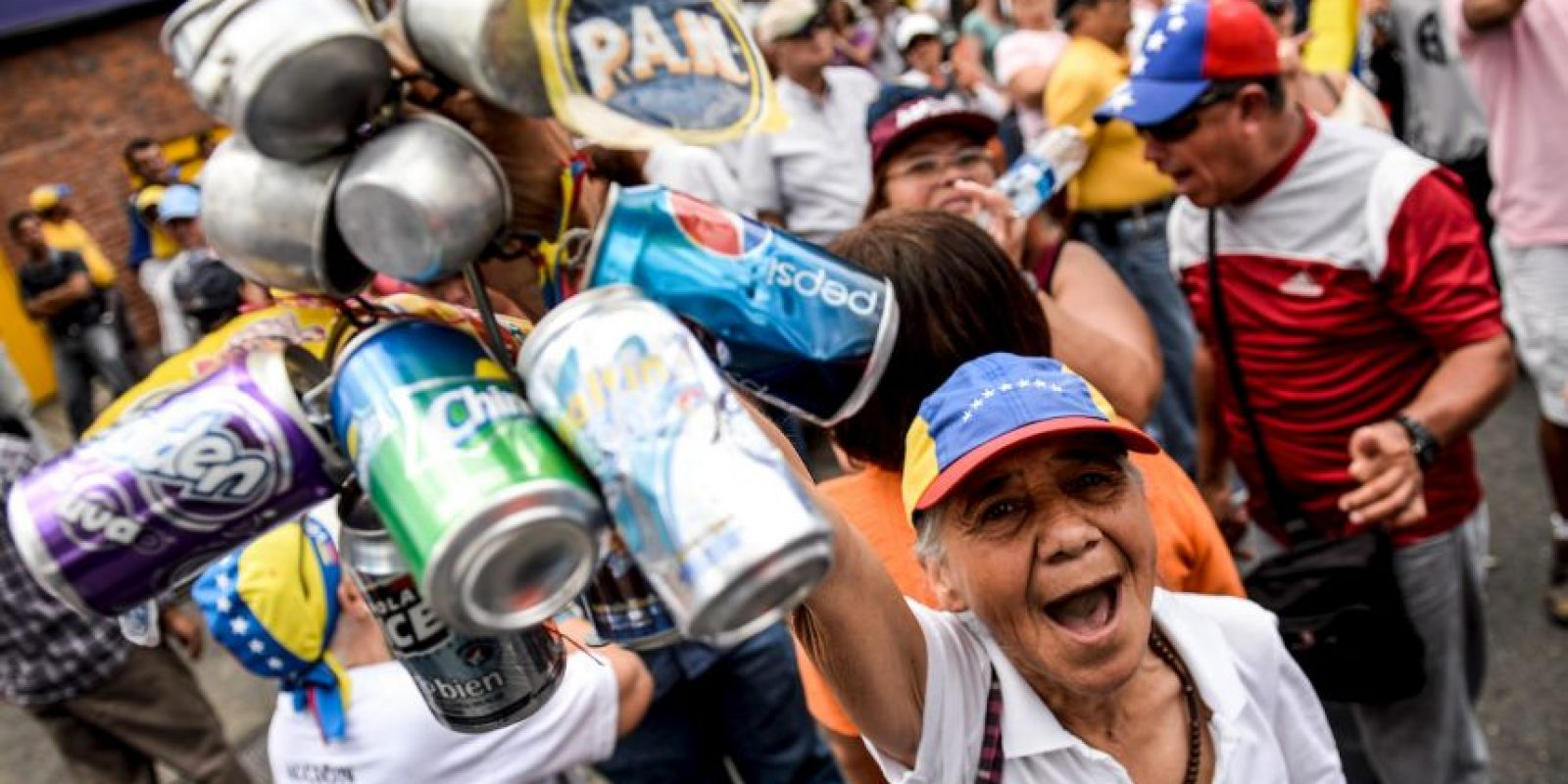 Todo ocurrió en la ciudad de Sabaneta, al oeste de Venezuela. Foto:AFP
