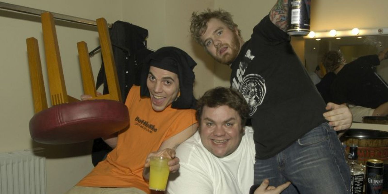 """Además de formar parte de Jackass, fue miembro de Viva la Bam, programa transmitido por """"MTV"""". Foto:Getty Images"""