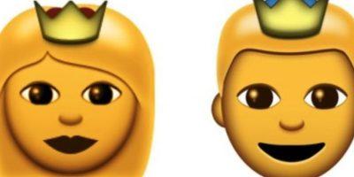 Reyes o príncipes Foto:Emojipedia