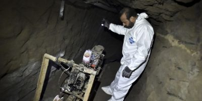 """5. Según el periódico """"El Universal"""", el narcotraficante tuvo """"tiempo suficiente"""" para escapar Foto:AFP"""