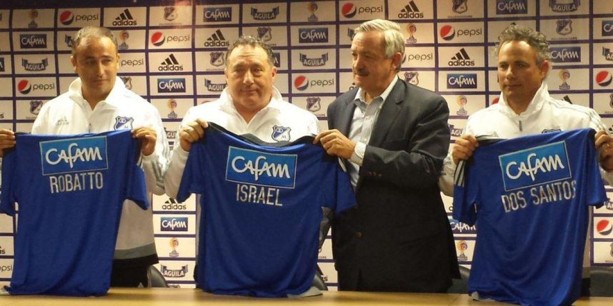 Rubén Israel llegó a Millonarios y habló claro