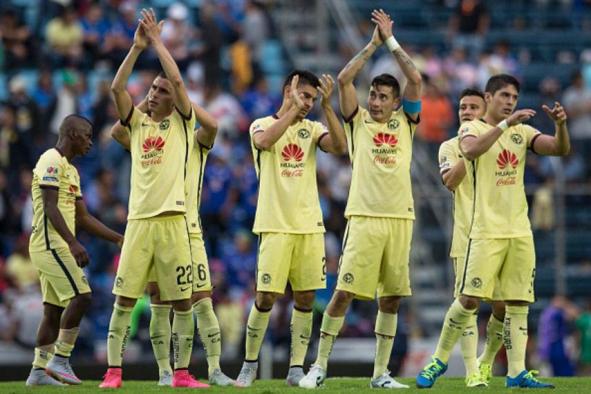 10. América (México) Foto:Getty Images