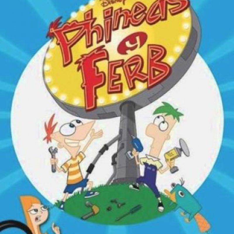"""""""Phineas y Ferb – Temporada 4"""". Disponible a partir del 15 de septiembre. Foto:Disney Channel"""