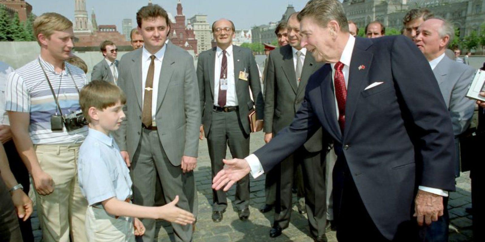 Ronald Reagan se desempeñó como actor antes de ser presidente. Foto:Getty Images