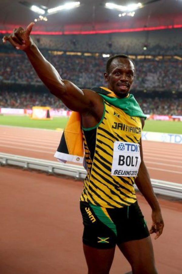 """El """"Relámpago"""" se impuso en los 100 metros con un tiempo de nueve segundos y 79 centésimas de segundo Foto:Getty Images"""
