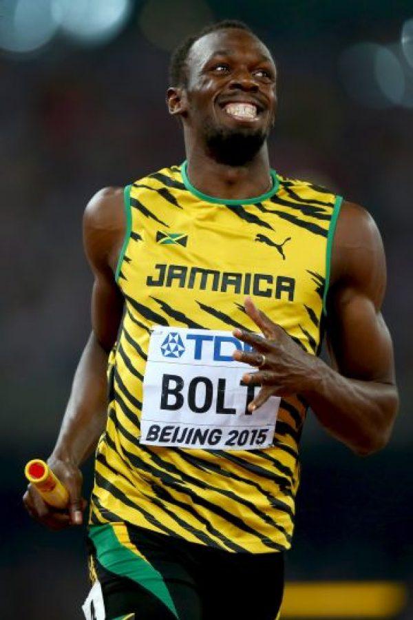 También conquistó los 200 metros en 19 segundos y 55 centésimas de segundo Foto:Getty Images