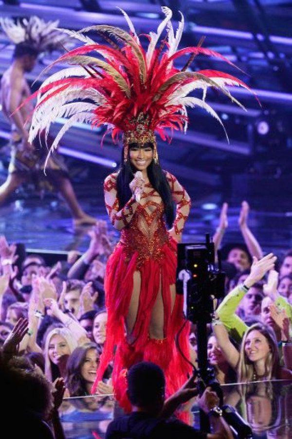 Nicki Minaj en agosto 2015 Foto:Getty Images