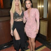 Iggy Azalea y Demi Lovato Foto: Getty Images