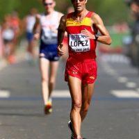 El español se consagró en los 20 kilómetros de marcha. Finalizó la competencia en una hora, 19 minutos y 14 segundos Foto:Getty Images