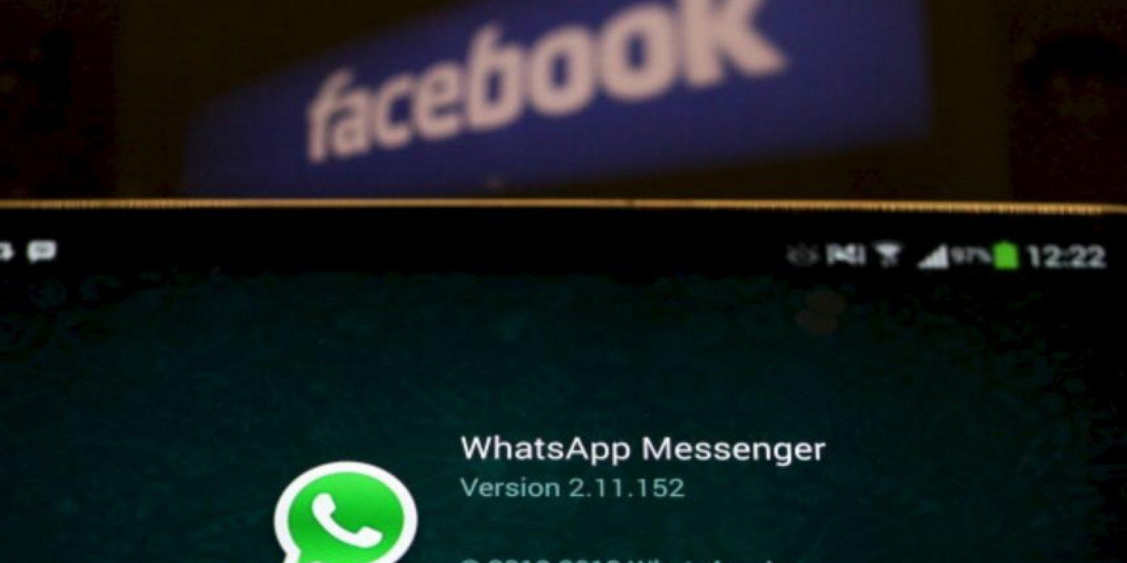 Whatsapp es la aplicación de mensajería instantánea más popular del mundo Foto:Getty Images