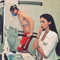 Se encargó de realizar los exámenes médicos a los futbolistas del combinado ruso de cara a la nueva temporada Foto:Vía instagram.com/gameeva_viktoriya