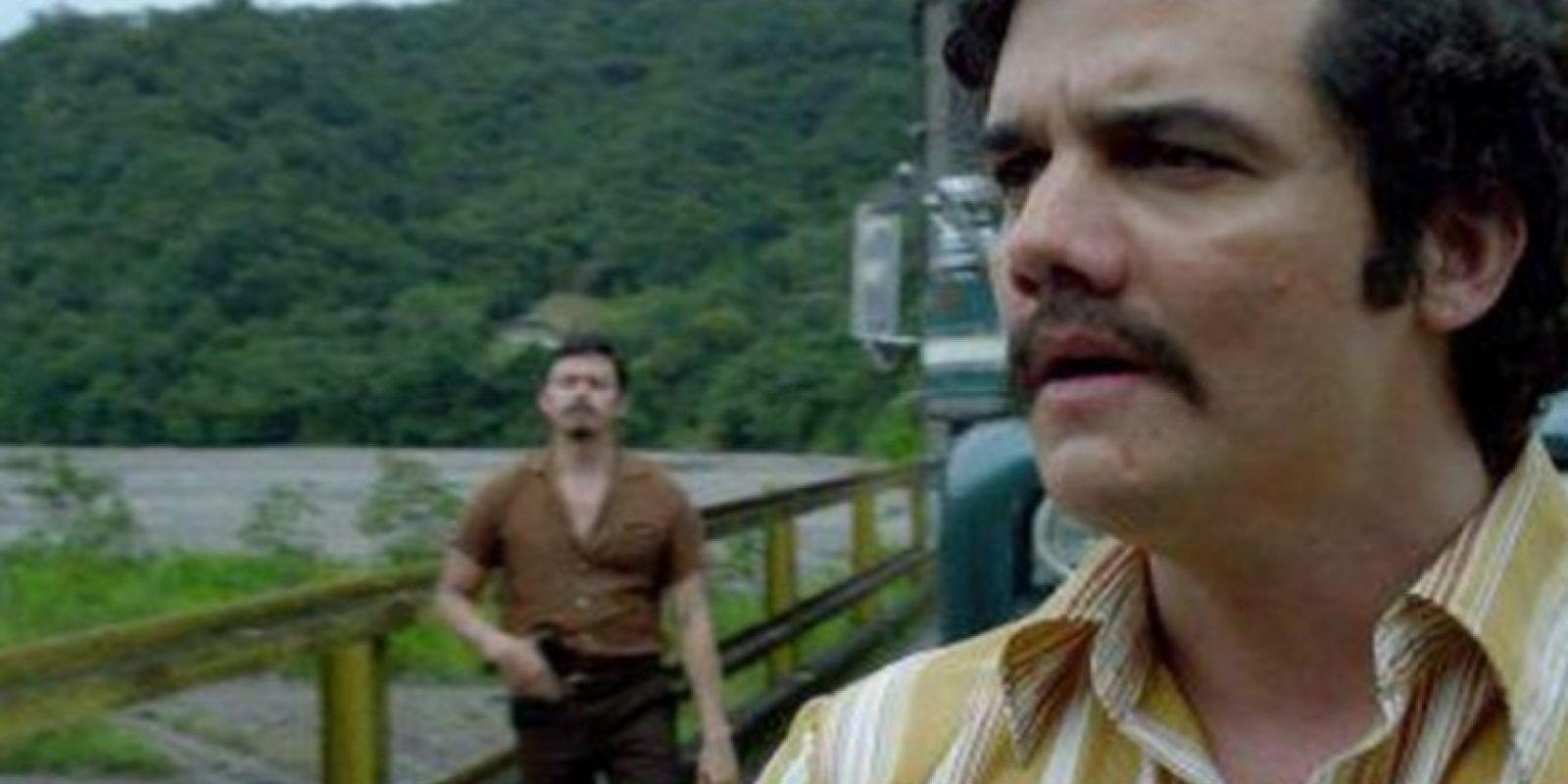 Pero para interpretar al capo colombiano le hace falta mucho. Foto:vía Netflix