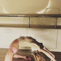 En un principio, la actriz compartió el video de su baile en Instagram, minutos más tarde lo eliminó y únicamente compartió esta imagen. Foto:Instagram/lindsaylohan
