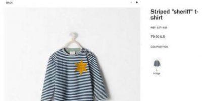 2. Zara, la marca bandera de Inditex, tuvo que disculparse públicamente y retirar una prenda muy controvertida de sus tiendas. Foto:Zara.com