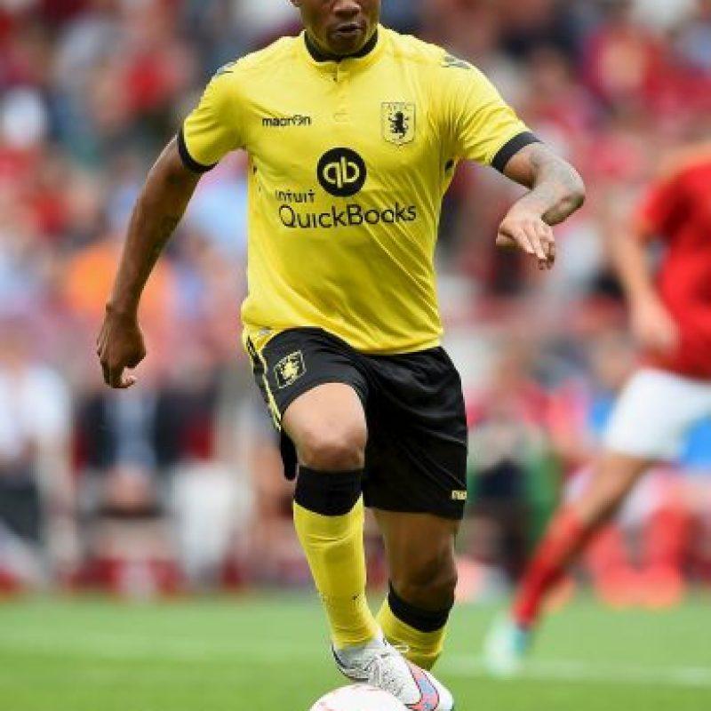 Jordan Ayew tiene 23 años y juega en el Aston Villa. Foto:Getty Images