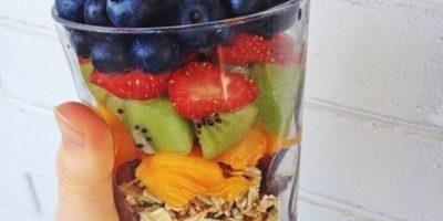 Frutas, cereales y verduras: Leo Foto:Tumblr