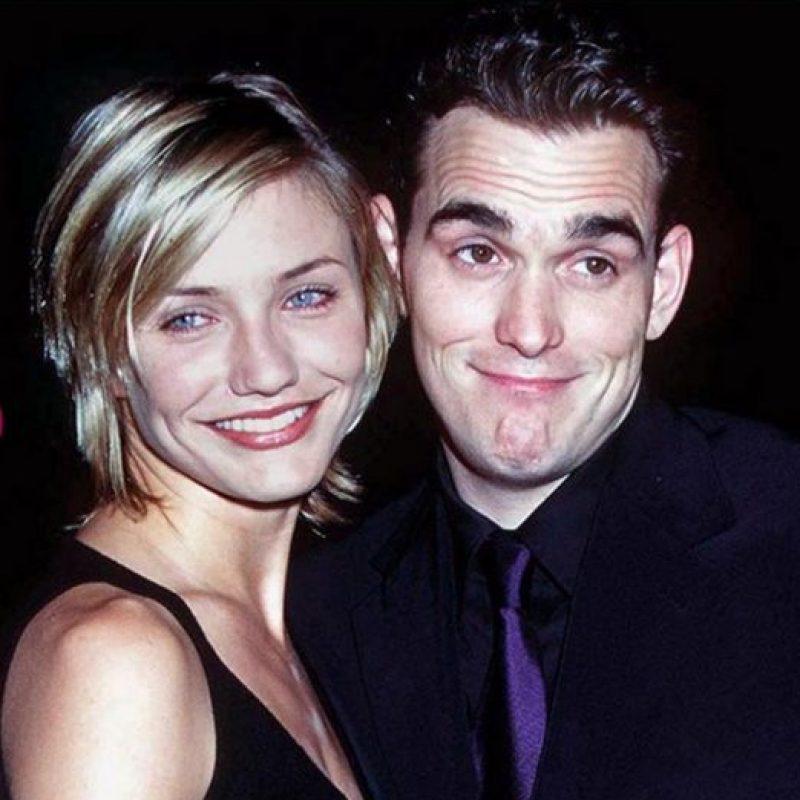 Matt Dilon. Comenzaron su relación en 1996, la cual duró dos años Foto:Getty Images