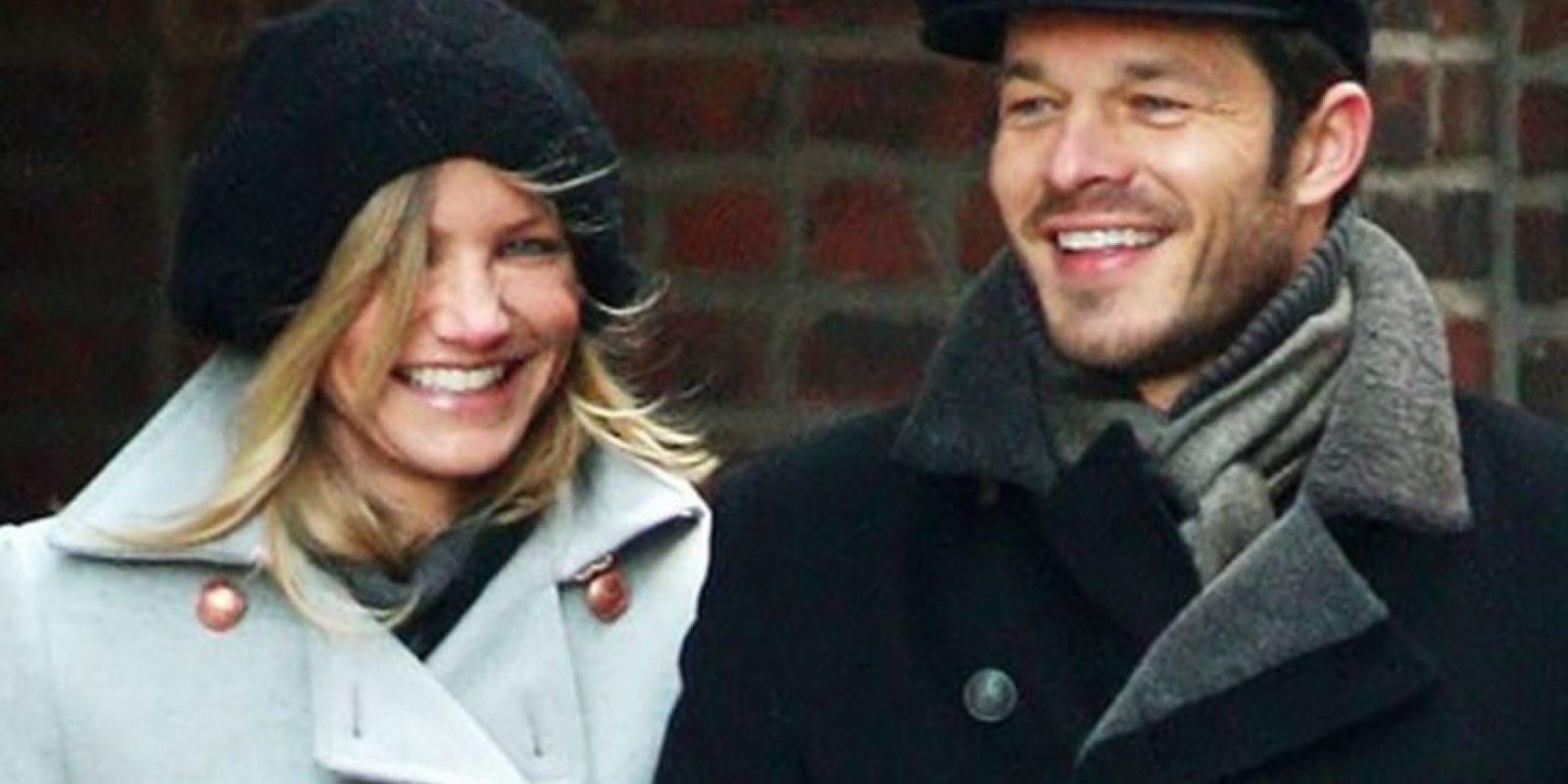 Con el modelo inglés Paul Sculfor tuvo una relación desde junio de 2008 a mayo de 2009 Foto:Getty Images