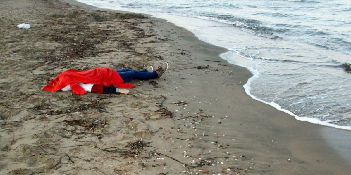 Foto de niño ahogado desenmascara la difícil situación de los refugiados sirios