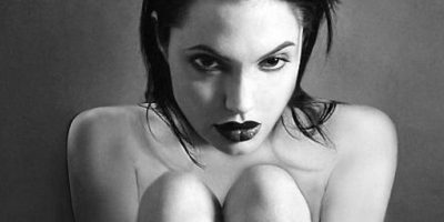 Angelina Jolie posó para la cámara de Kate Garner Foto:Fotógrafa: Kate Garner/Galería Zebra One