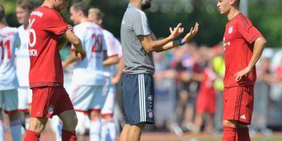 Zlatan Ibrahimovic no pierde oportunidad para insultarlo y en Bayern Múnich ya se peleó con Thomas Müller Foto:Getty Images