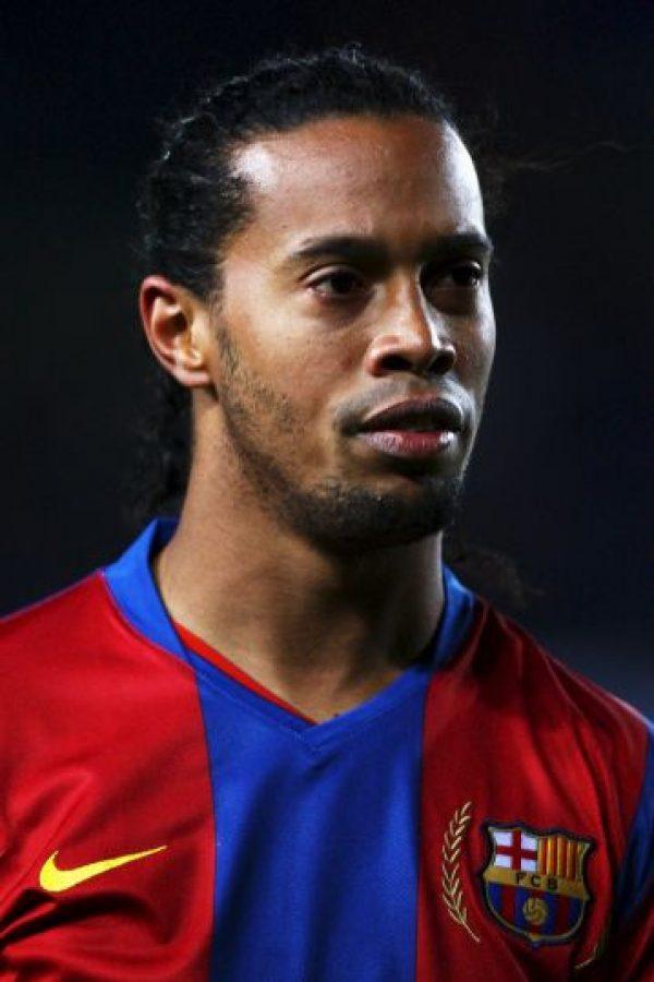 Fue el Balón de Oro de 2005, y gano una Champions League con el Barcelona, tres ligas nacionales y un Mundial de Fútbol con Brasil (2002). Foto:Getty Images