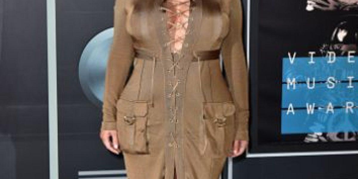 Fotos: Las ocasiones en que Kim Kardashian nos ha espantado más que en los VMAs
