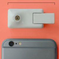 Su tamaño es menor al de un iPhone Foto:Matter And Form Inc.