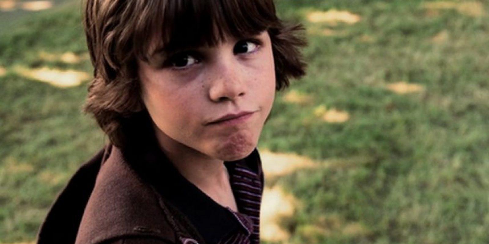 Mientras que en la niñez fue interpretado por Logan Lerman Foto:Via imbd.com