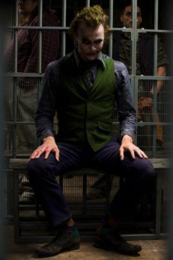 """Y en 2009 ganó el Oscar como """"Mejor Actor de Reparto"""" por interpretar a """"The Joker"""" en """"The Dark Knight"""" Foto:IMDB"""