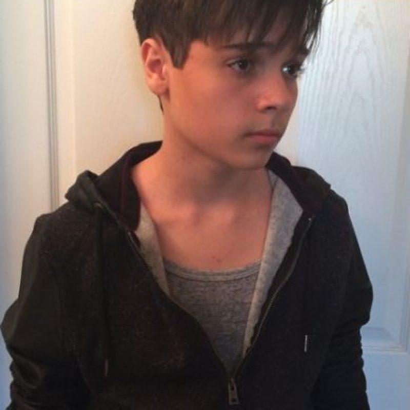 Ahora es casi un adolescente de 16 años y luce así. Foto:vía instagram.com/cameron_ocasio