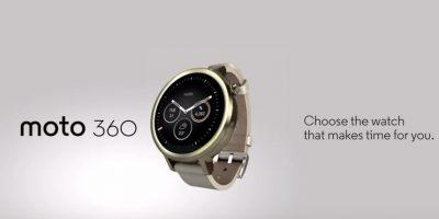 Moto 360 Foto:Motorola