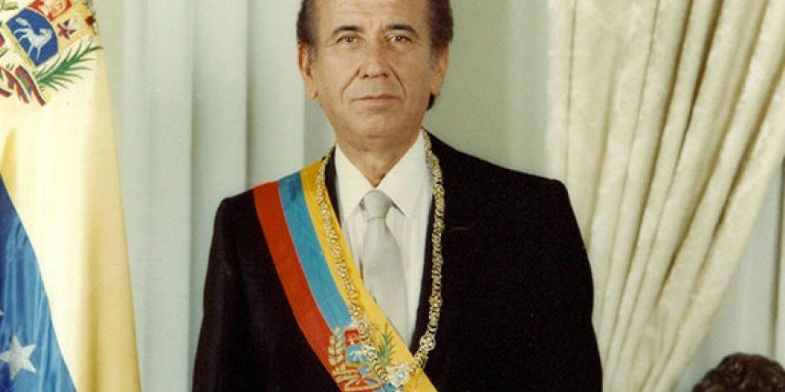 4. Carlos André Pérez, en Venezuela Foto:Wikimedia.org