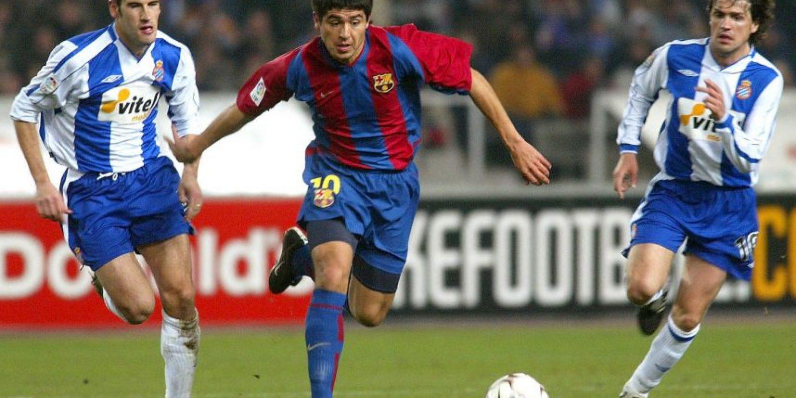 Llegó al Barcelona sin ser pedido por Van Gaal. En un inicio jugó, pero después fue apartado del plantel titular Foto:Getty Images