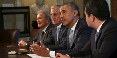 En julio de 2014 viajó con los presidentes centroamericanos a visitar al presidente Barack Obama Foto:Getty Images