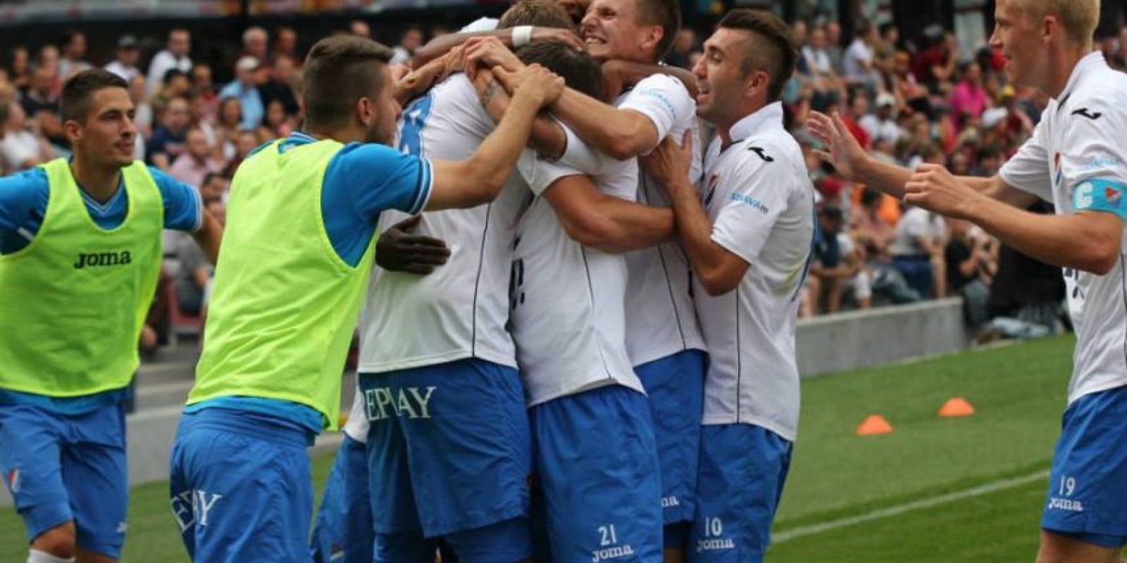 Es uno de los equipos históricos de la República Checa y actualmente juega en la Primera División de este país. Foto:Vía facebook.com/fcbanik.cz
