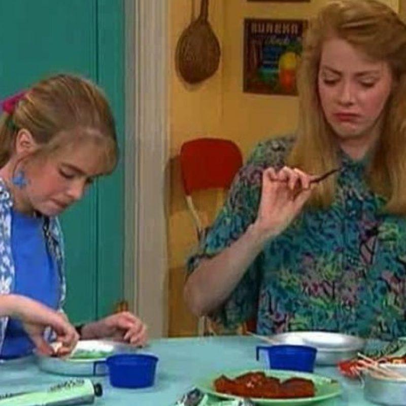 """La actriz interpretó a """"Janet Ferguson-Darling"""", la madre y consejera de """"Clarissa"""". Foto:vía instagram.com"""