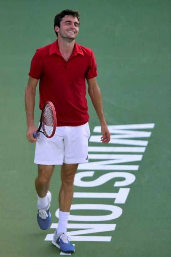 Cayó en primera ronda ante el estadounidense Donald Young, clasificado 68 en el ranking ATP. Foto:Getty Images
