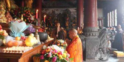 Es un templo budista, situado en la provincia china de Henan Foto:Vía shaolin.org.cn