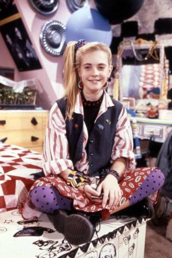 """Le dio vida a una joven llamada """"Clarissa Darling"""" Foto:IMDB"""