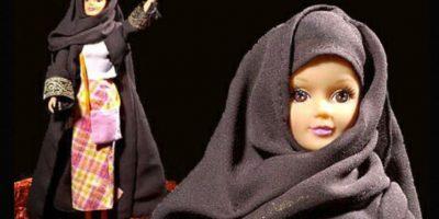 2. Fulla es la Barbie musulmana. Se creó en 2003. Viene en formato tradicional y con hijab menos ortodoxo para países liberales. Foto:Fulla