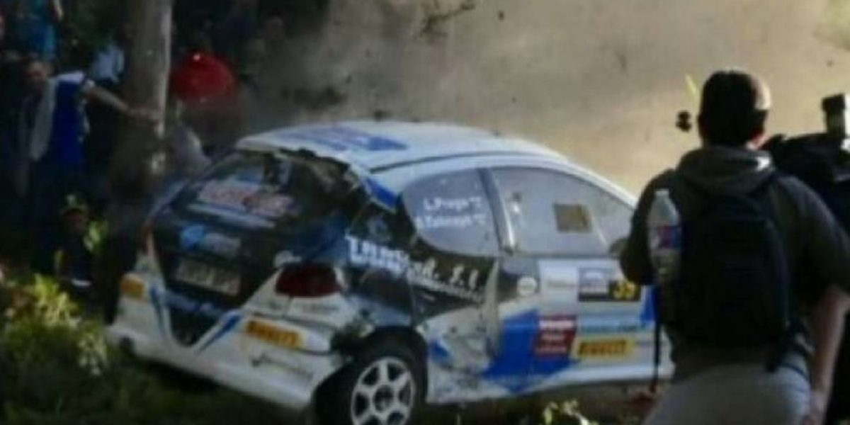 Video: Al menos 6 espectadores murieron en accidente en rally español
