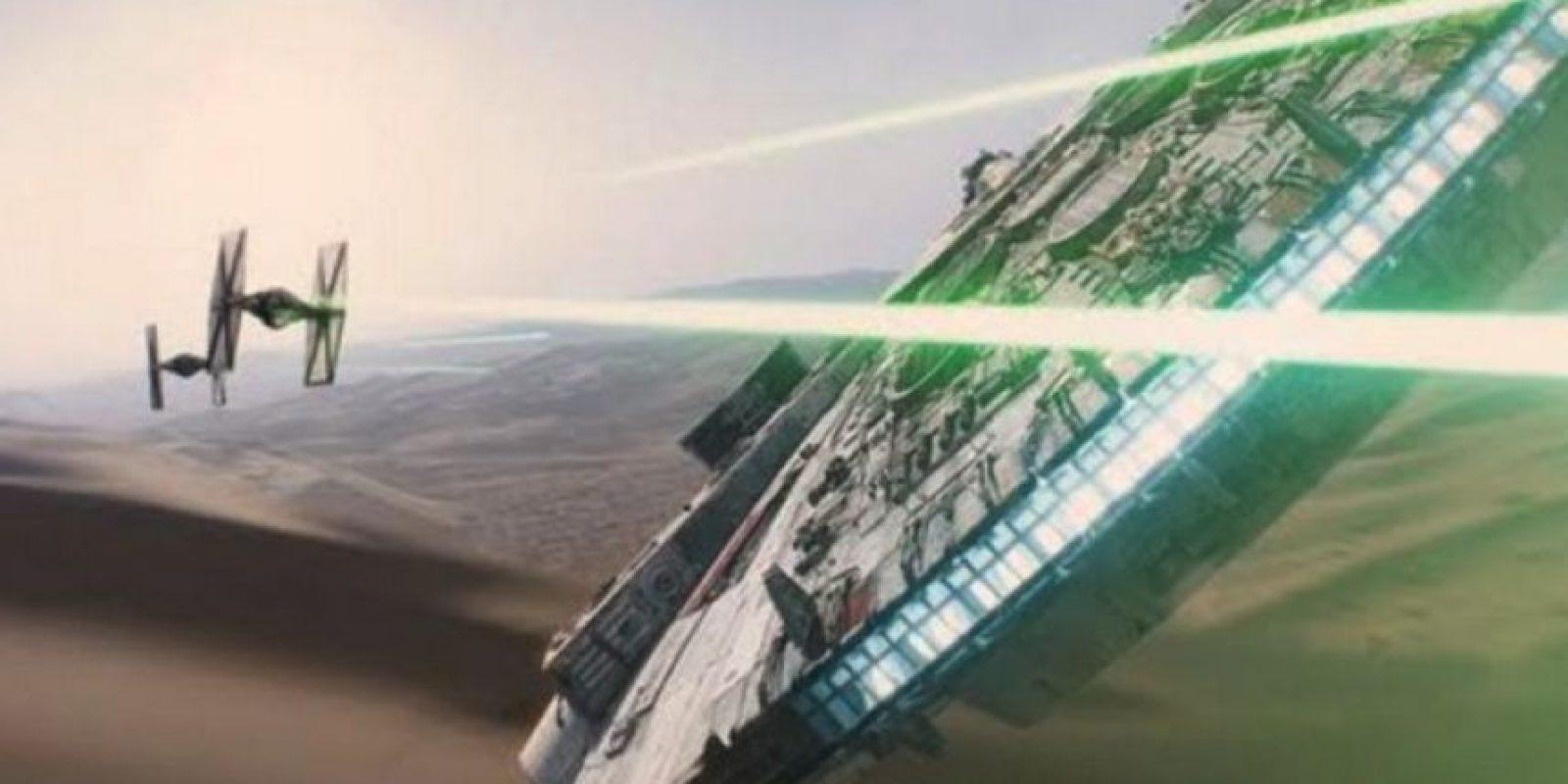 Un viejo conocido es el Halcón Milenario Foto:Lucasfilms