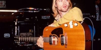 Kurt Cobain fue un músico estadounidense. Foto:IMDb