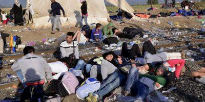 Miles de sirios viajan con rumbo a Alemania Foto:Getty Images