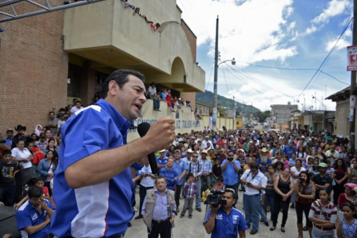 Estudió Administración de Negocios en la Universidad de San Carlos, en Guatemala Foto:AFP
