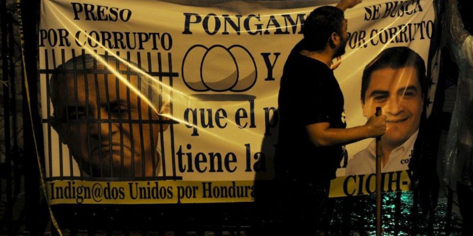 """3. Los manifestantes se han hecho llamar los """"indigandos"""". Foto:AFP"""